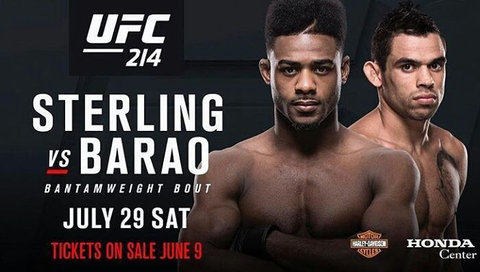 Repost from  @funkmaster_ufcLooks like the commission is making the weight cut easier for Barão  Bantamweight featherweight or catchweight it doesn't matter to me! Either way the commission isn't gonna stop me from putting this guy on his back and dropping some hellbows on his face! Lets see who wants this shit more!!! YOU HAD YOUR TIME!! É a minha vez!  MMA fans believe it's time for aljamain Sterling to be at the top of the pack by taking Barao out?  http://ift.tt/2s8zdbq  #mma news #ufc…