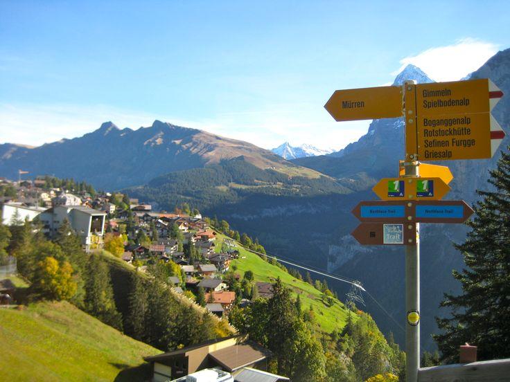 Murren Switzerland  City pictures : Murren, Switzerland | Switzerland... My second home | Pinterest
