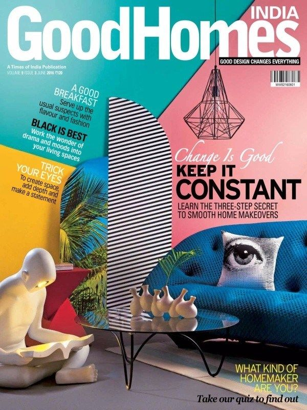 Good Homes June 2016 Issue- Tips to Smooth Home Makeovers  #GoodHomes #HomeMakeovers #HomeDecor #ebuildin