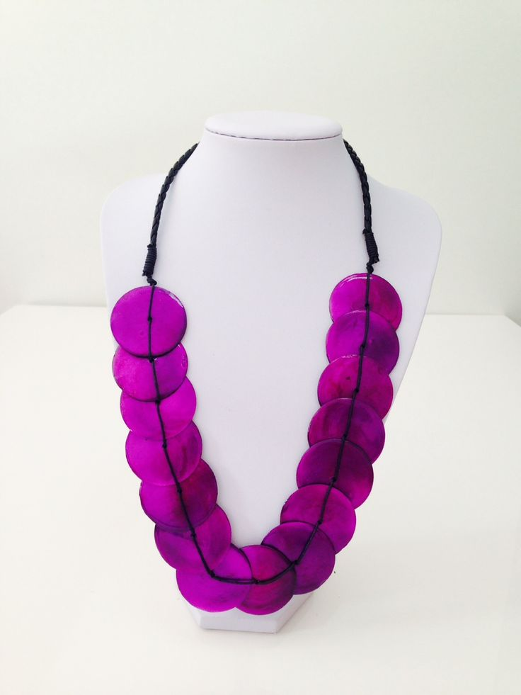 Beautiful purple shell necklace $10, go to www.melikeshoes.com.au (We always do free shipping)