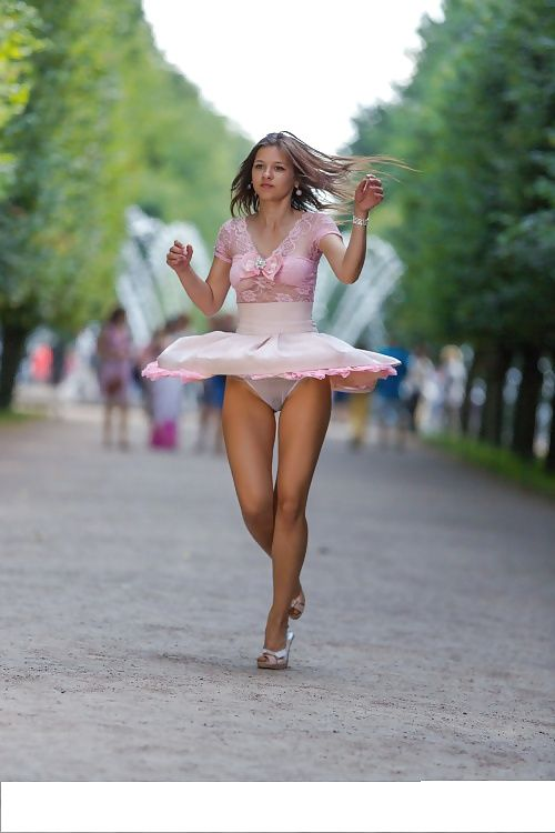 Asian pink panty ups 02 7