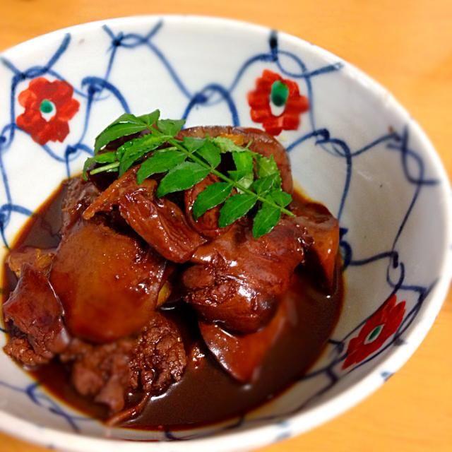 水曜がんばろう! - 56件のもぐもぐ - 朝から鶏レバー煮付 by princeanne