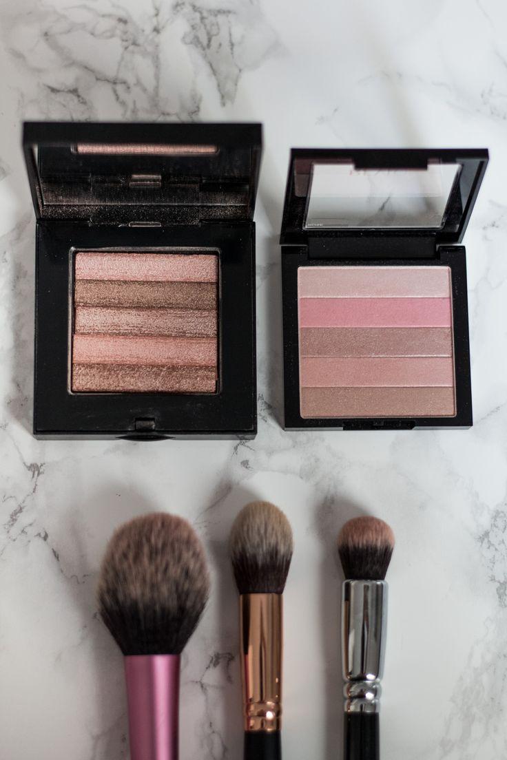 Dupe Allert? Bobbi Brown Shimmer Bricks vs. Revlon Highlighting Palettes