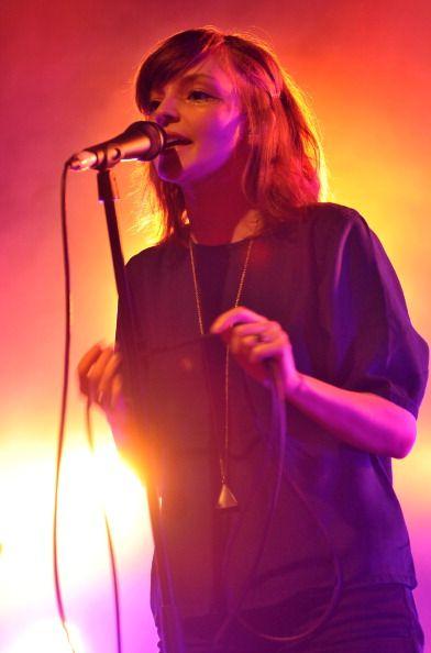 Lauren Mayberry - CHVRCHES Shepherds Bush Empire, 2013