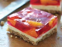 Postre de pretzels con fresas y mandarinas Receta - Comida Kraft