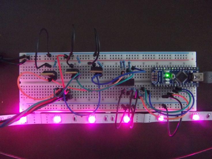 Arduino RGB-LED-Strip Steuerung mit MOSFETs und Optokopplern  Teil 1  Die Hardware