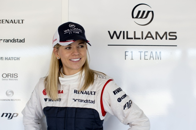 MUST SEE television.  http://grandprix20.com/2013/02/20/the-fastest-woman-in-the-world-to-give-rare-glimpse-into-the-world-of-f1/  #susiewolff #F1 #BBC