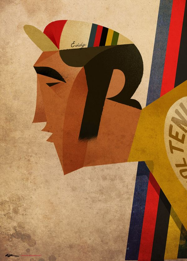 Eddy Merckx  Profile of the great hero of cycling.