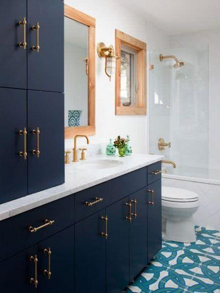 Colors for Bathrooms 2021 - Blue #interior #bathroom # ...