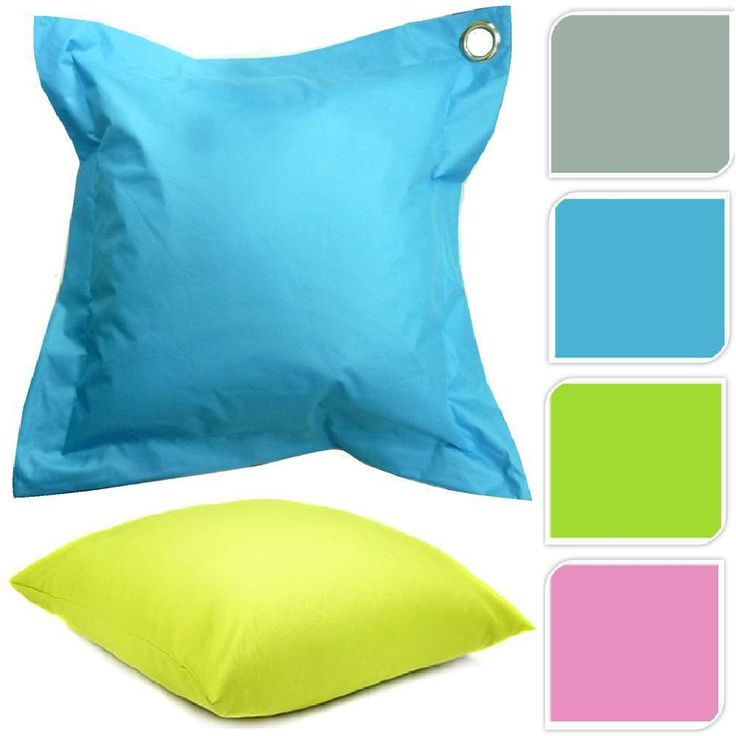 Large Outdoor Patio Waterproof Cushion Padded Filled Garden Furniture Seat  Pad Part 41