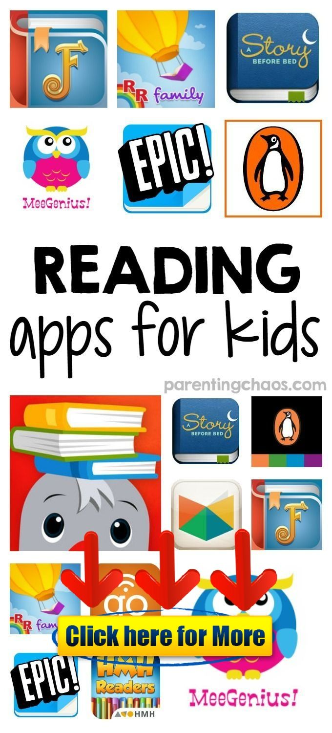 Reading Program Apps for Kids android iphone ios app