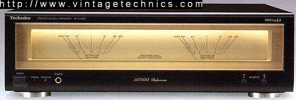 SE-A1000 Stereo Power Amplifier