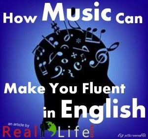 How Music makes you fluent in English