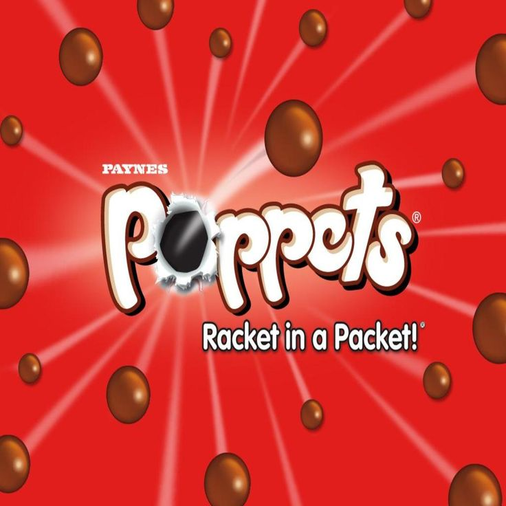 Poppets chewy toffee wallpaper