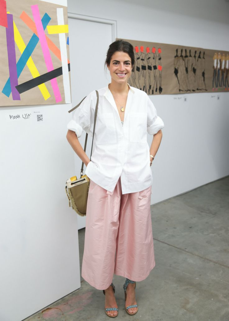 Leandra Medine - The Cut. I sincerely don't like this look. Find it completely unflattering. ... This woman is so gorgeous that she outshines this esemble!!!