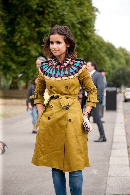 topshop: Miroslava Duma always pulls off the best outfit. How cute is the min…