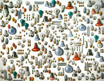 Lisa Milroy colections of objects and values