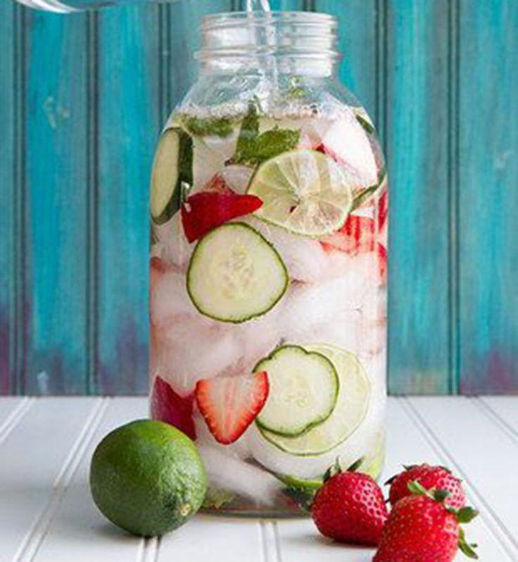 Detox water et smoothies : les boissons parfaites pour une cure de détox - Cosmopolitan.fr