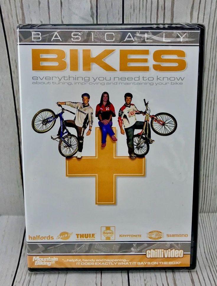 Basically Bikes DVD Martyn Ashton Martin Hawyes Izzie Knowles Region Free NEW