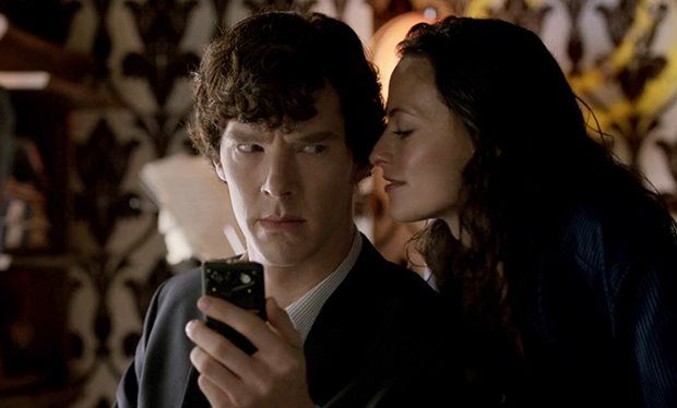 Sherlock and Irene Adler meet up every six months for