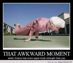 That Awkward moment!!!