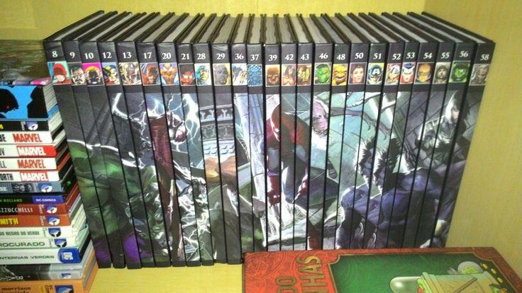 Coleção Salvat Graphic Novels atualizada! #Marvel