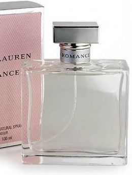 Ralph Lauren Romance  Introduced in 1998 this romantic eau de perfume was created by Harry Fremont. It is fresh and light with loads of soft pink roses. Ralph Lauren Romance is a women's fragrance that evokes the timeless essence of falling in love. A scent that is all about the sensual essence of velvety woods, extravagant florals, and seductive musk. A gift for women who love to celebrate simplicity with a straightforward attitude.