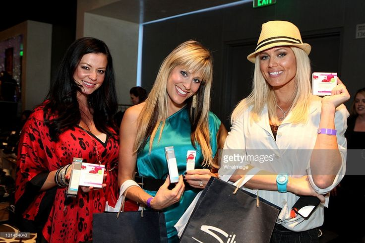 Actress Torrie Wilson, singer Lilian Garcia and WWE wrestler Candice Michelle attend Kari Feinstein MTV Movie Awards Style Lounge at W Hollywood on June 2, 2011 in Hollywood, California.