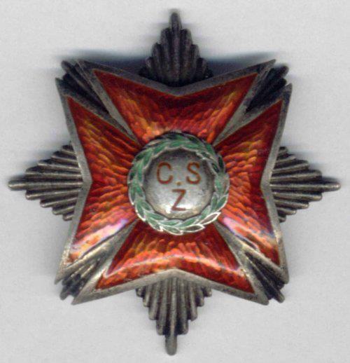 Odznaka pamiątkowa Centralnej Szkoły Żandarmerii.