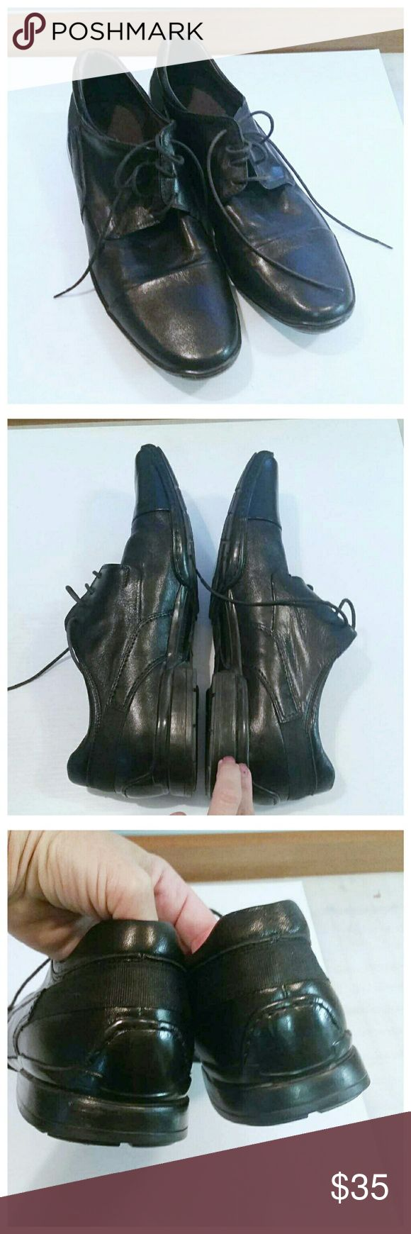 Bacco Bucci black mens dress shoes In excellent condition. Bacco Bucci Shoes Oxfords & Derbys