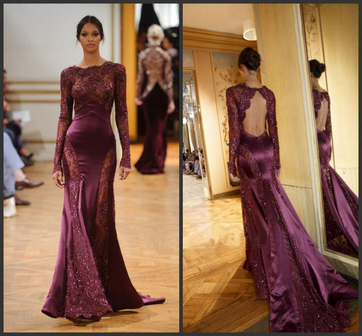Marsala wedding dress