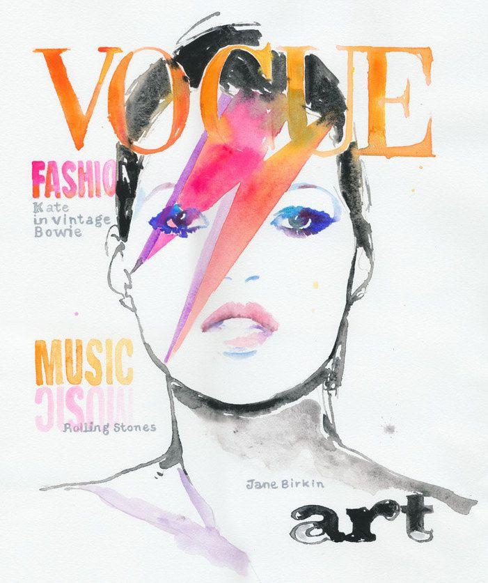 """""""Kate in vintage Bowie"""""""