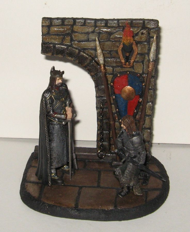 Diorama .Lord of the rings
