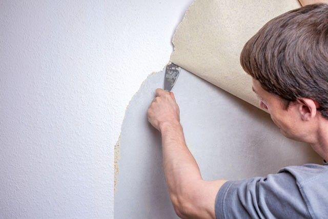 Alte Tapete Entfernen Und Streichen : Entfernen Von Alten Tapeten, Trockenwand und Alte Tapete