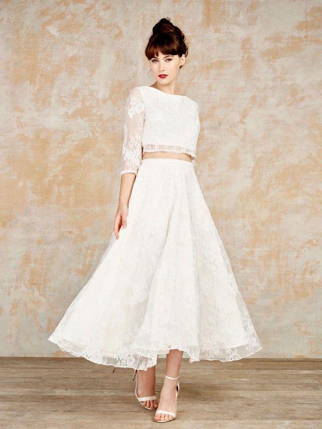 19 best Vintage Wedding Dresses images on Pinterest | Short wedding ...