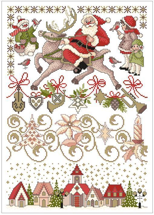 Lindner´s Kreuzstich No 60 - Weihnachtszauber | eBay More