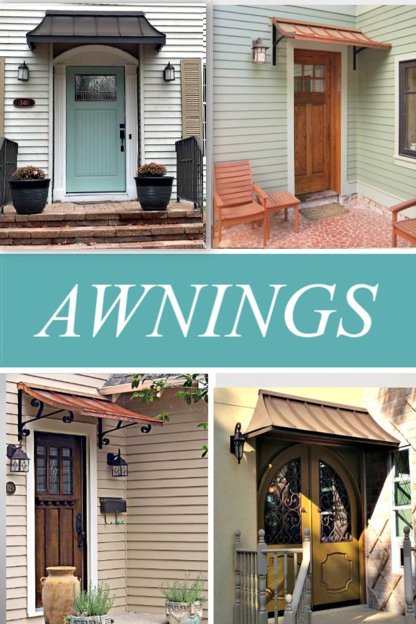 Create Your Awning Design Your Awning Home Styles Exterior House Exterior House