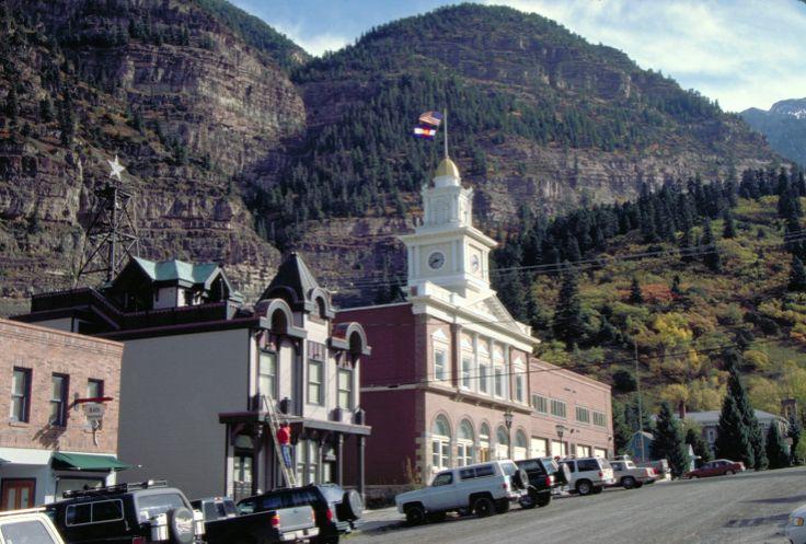 The town of Ouray Colorado!