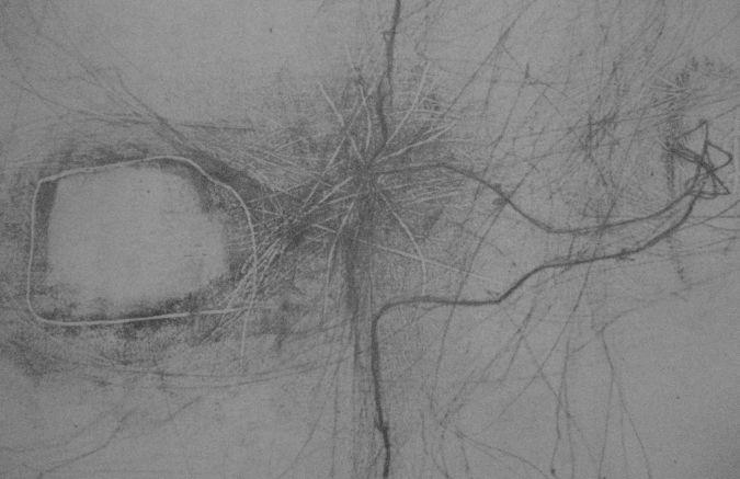 Dessin de ligne d'erre, de Fernand Deligny