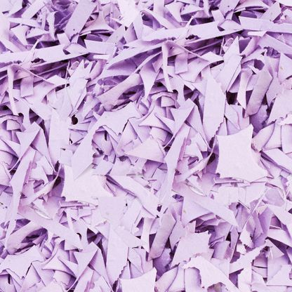 Lavender Shredded Plantable Seed Paper Confetti from Daisy Giggles