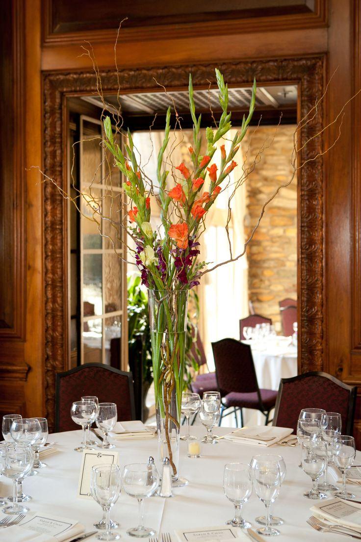 Gladiolus Centerpieces