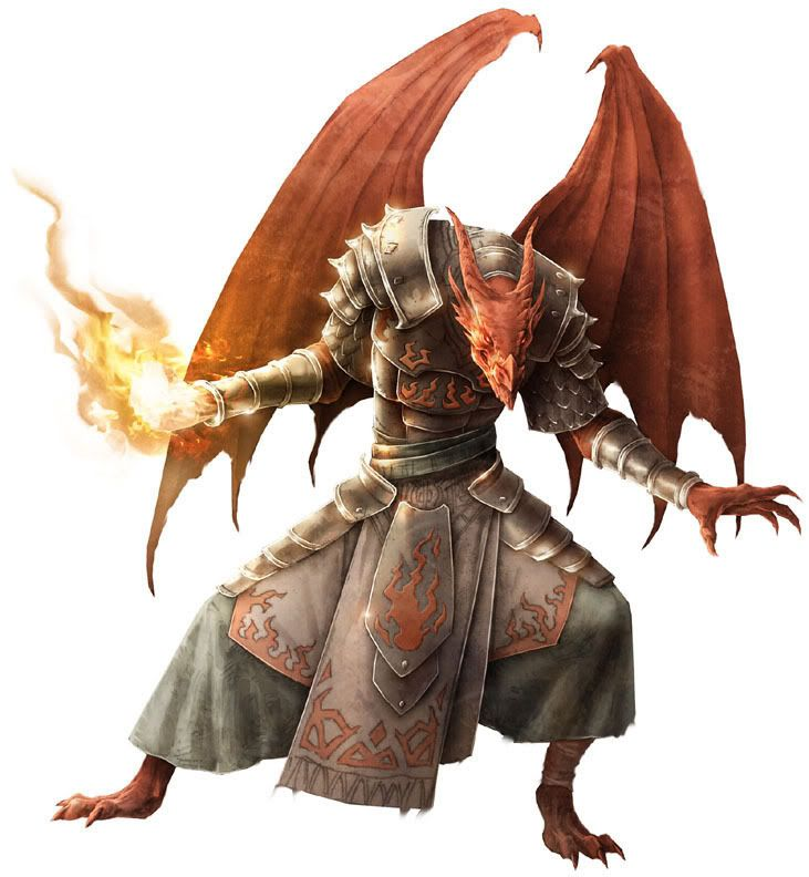 half dragon d&d - Buscar con Google | half-dragon ...