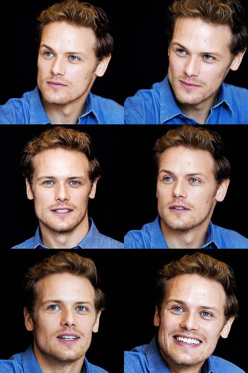 Sam Heughan at the SDCC2017 Press Conference | July 21, 2017