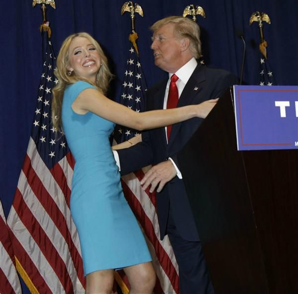 Donald Trump's daughter Tiffany is dating a Hillary Clinton-liking Democrat