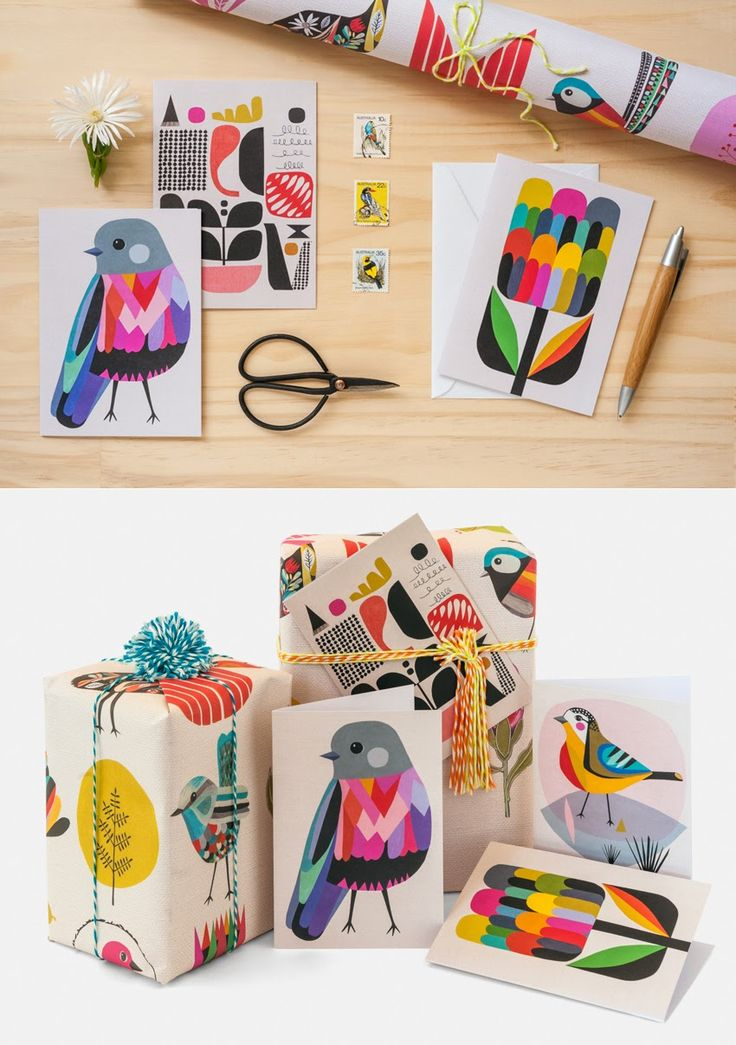 INALUXE designs for Earth Greetings cards & wrapping paper - 2014