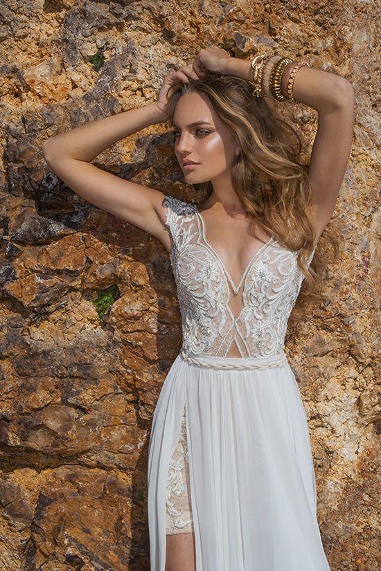 Fancy Julie Vino Spring Quartet Collection Ethereal Wedding DressDiy