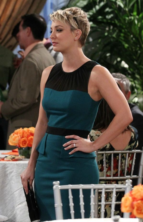 "Worn in ""The Champagne Reflection"" Penny The Big Bang Theory"