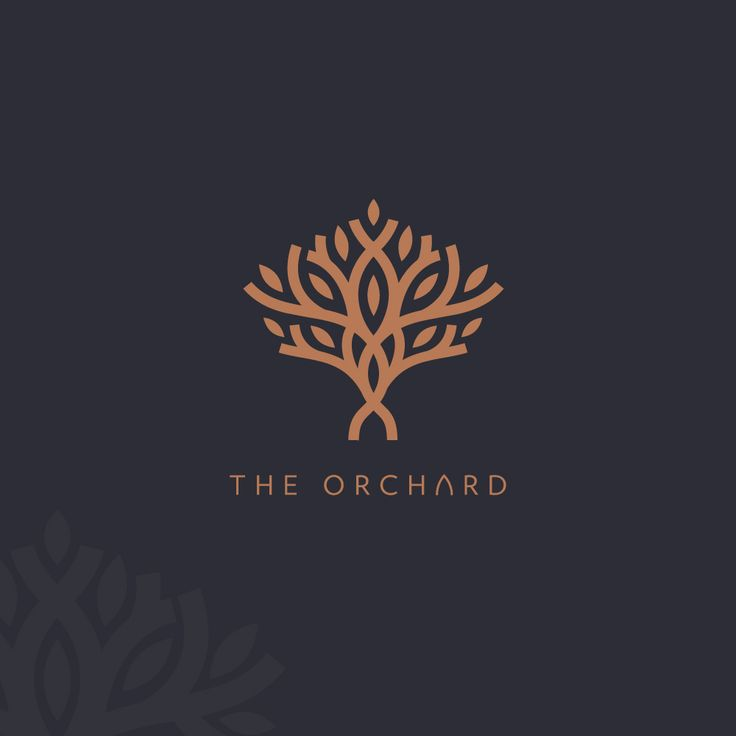Logo proposal for restaurant/regreational place called The Orchard.