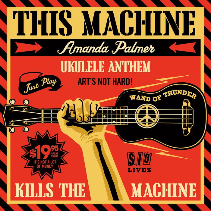 Ukulele Anthem By Amanda Palmer