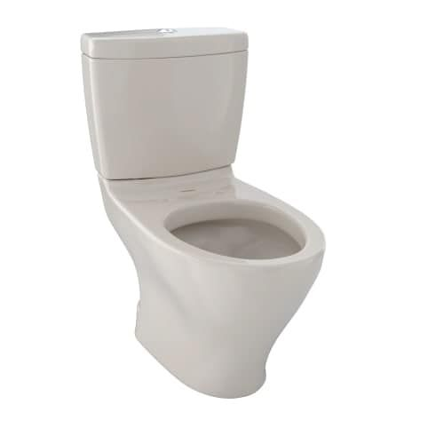 toto cst416m aquia ii two piece elongated dual flush toilet with dualmax 16 or